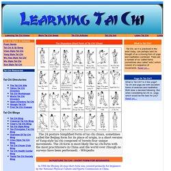 24 Short Form Tai Chi<