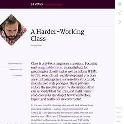 A Harder-Working Class