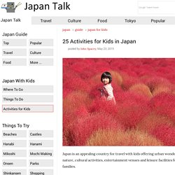 25 Activities for Kids in Japan