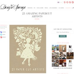 25 Amazing Papercut Artists
