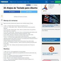 25 Atajos de Teclado para Ubuntu