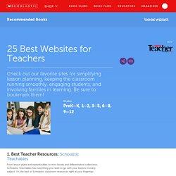 25 Best Websites for Teachers