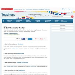 25 Best Websites for Teachers