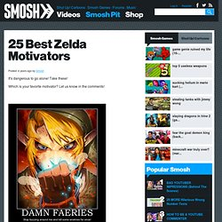 25 Best Zelda Motivators | Smosh