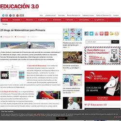 25 blogs de Matemáticas para Primaria