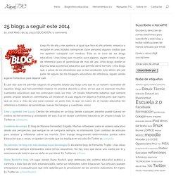 25 blogs a seguir este 2014