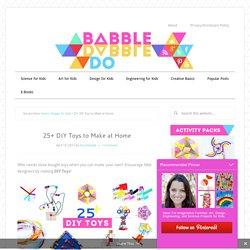 25+ DIY Toys to Make at Home