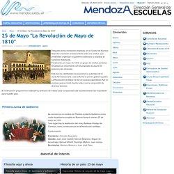 """25 de Mayo """"La Revolución de Mayo de 1810"""""""