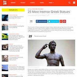 25 Most Intense Greek Statues