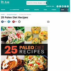 25 Paleo Diet Recipes