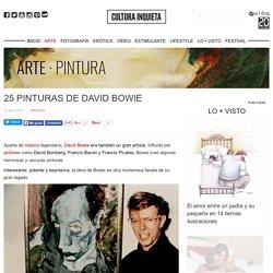 25 pinturas de David Bowie