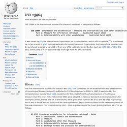 ISO 25964