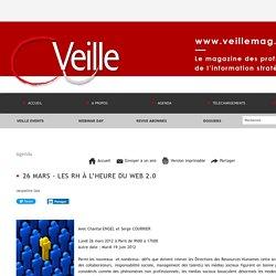 26 mars - Les RH à l'heure du WEB 2.0