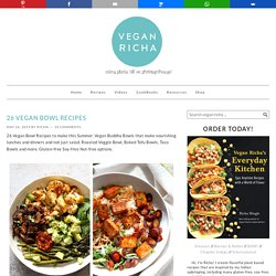26 Vegan Bowl Recipes