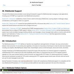 26.WebSocket Support