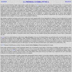270 - 250 La primera guerra Púnica