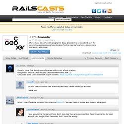 #273 Geocoder