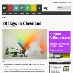 28 Days in Cleveland
