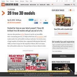 25 top free 3D models