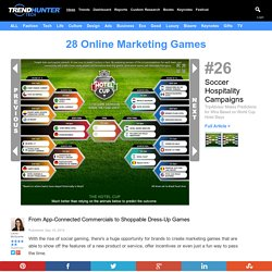28 Online Marketing Games