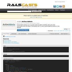 #284 Active Admin