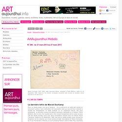 N° 296 - du 21 mars 2013 au 27 mars 2013