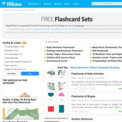 299 FREE Flashcard Sets