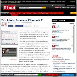 2e : Adobe Premiere Elements 7