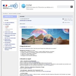 CLEMI - Interroger les images