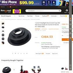 1.2inch Headlight Dust Cover Cap LED HID Xenon Bulb H1 H3 H4 H7 H8 H9 H11 9005 9006 Sale