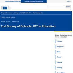 2nd Survey of Schools: ICT in Education