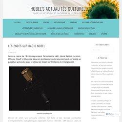 Les 2nde5 sur Radio Nobel – Nobel's actualités culturelles