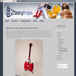 2StoryProps: Marceline's Axe Bass (Adventure Time)