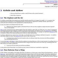 Airfoils and Airflow [Ch. 3 of See How It Flies]