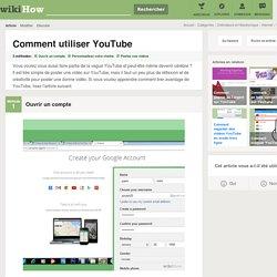 3 manières de utiliser YouTube