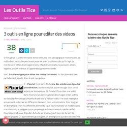 3 outils en ligne pour editer des videos