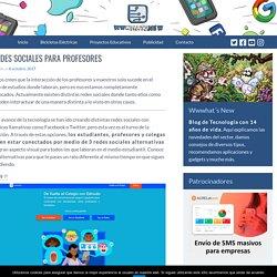 3 redes sociales para profesores