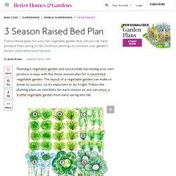 3 Season Raised Bed Plan