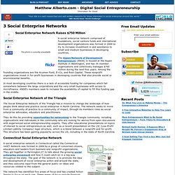 3 Social Enterprise Networks