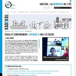 #3 Table ronde — La WebRadio de l'Institut Français de l'Éducation