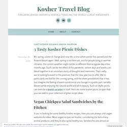 3 Tasty Kosher Picnic Dishes