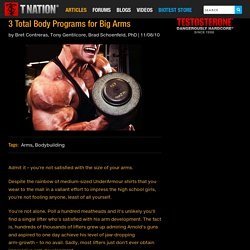 3 Total Body Programs for Big Arms