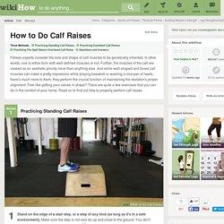 5 Ways to Do Calf Raises