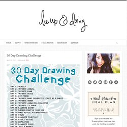 allison lehman : show + tell / 30 Day Drawing Challenge