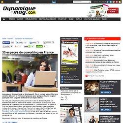 30 espaces de coworking en France