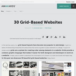 30 Grid-Based Websites