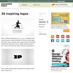30 inspiring logos