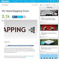 30+ Mind Mapping Tools