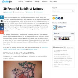 30 Peaceful Buddhist Tattoos
