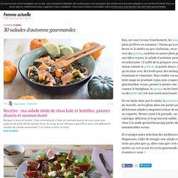 30 salades d'automne gourmandes